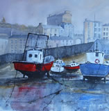 Waiting for the Tide, Tenby Harbour