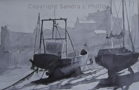 Boats, Tenby