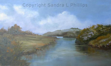 Autumn on the River Towy