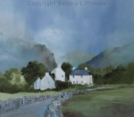 Cottages, Llanberis Pass